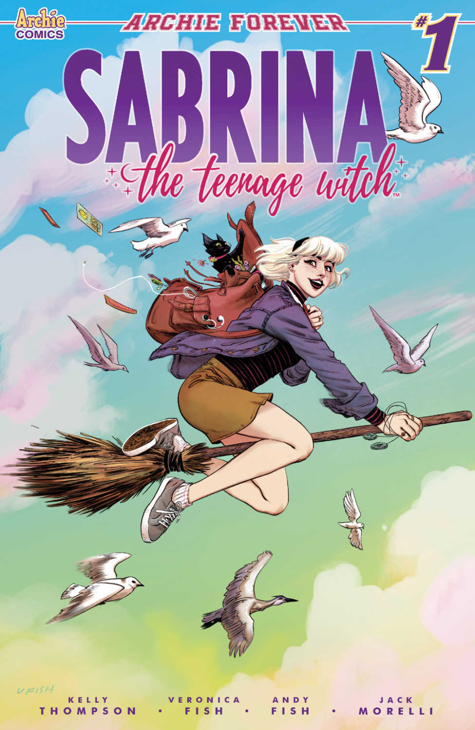 Sabrina The Teenage Witch #1 Cover