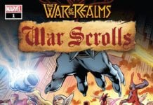 Exclusive Preview: WAR OF THE REALMS WAR SCROLLS #1