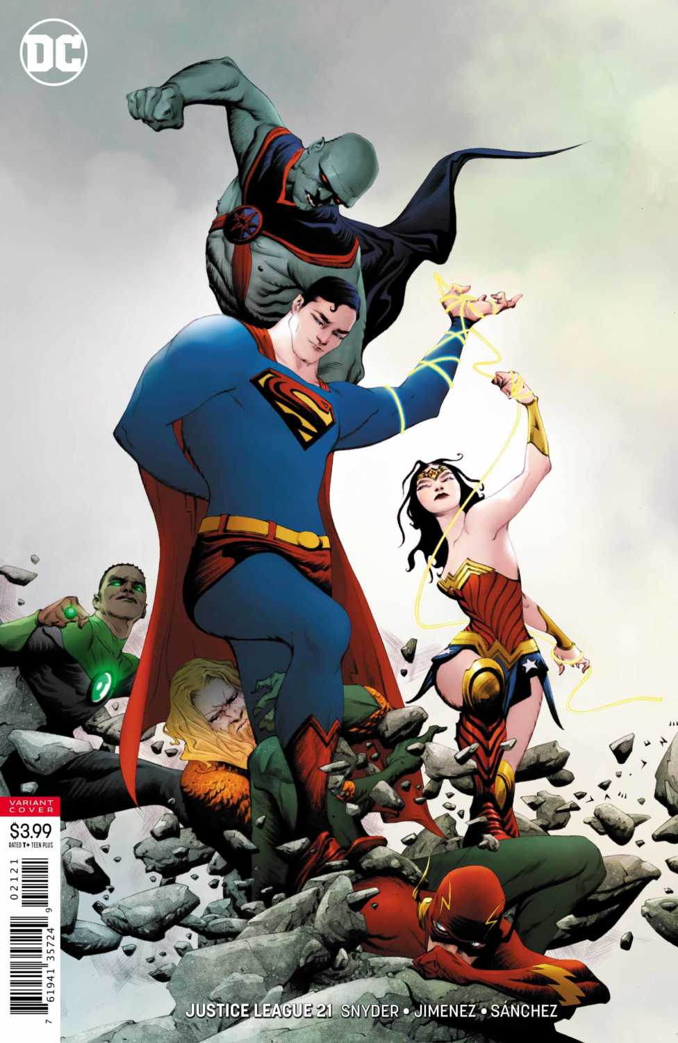 Justice League #21 Variant Cover