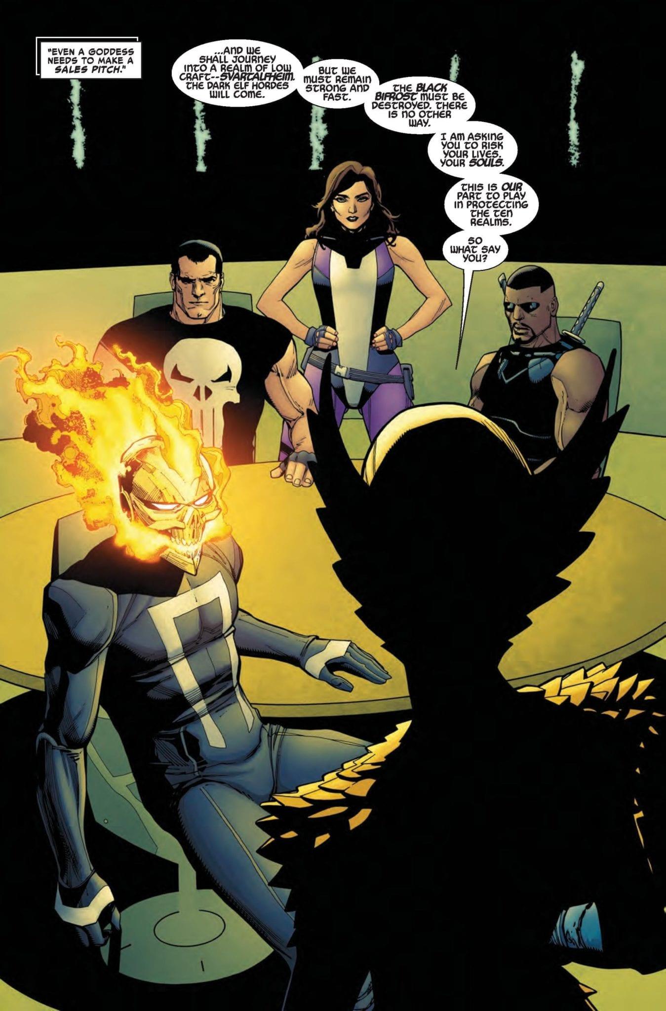 Exclusive Marvel Comics Preview: WAR OF REALMS STRIKEFORCE DARK ELF REALM #1