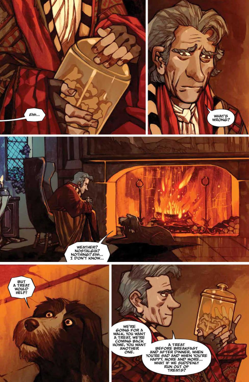 Jim Hensons The Storyteller: Sirens #1 Page Sample
