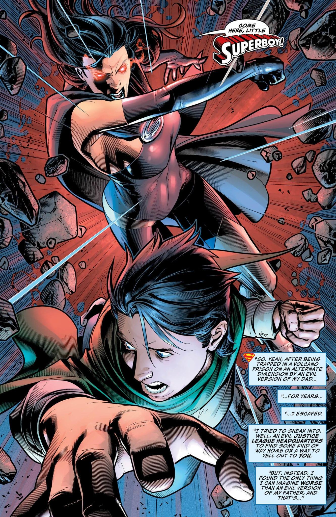 Jon versus evil Lois Lane