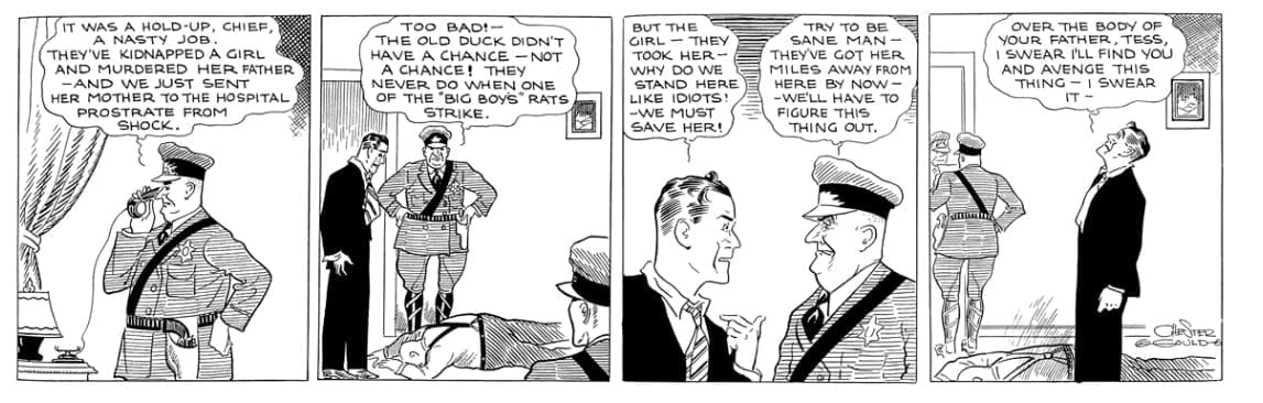 Dick Tracy October 21 1931