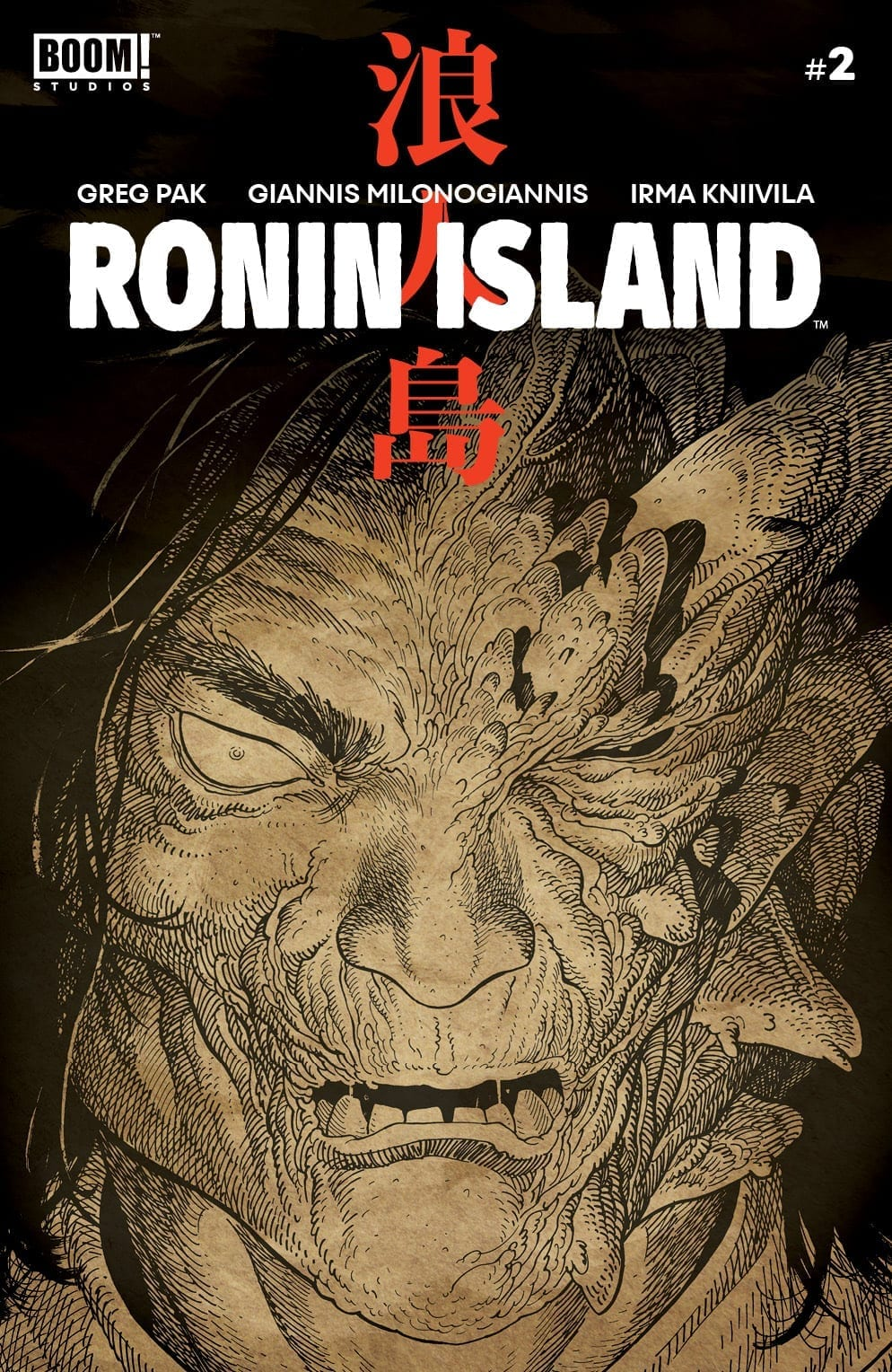 RONIN ISLAND #2 cover b preorder