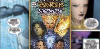 Exclusive Marvel Comics Preview- WAR OF REALMS STRIKEFORCE DARK ELF REALM #1