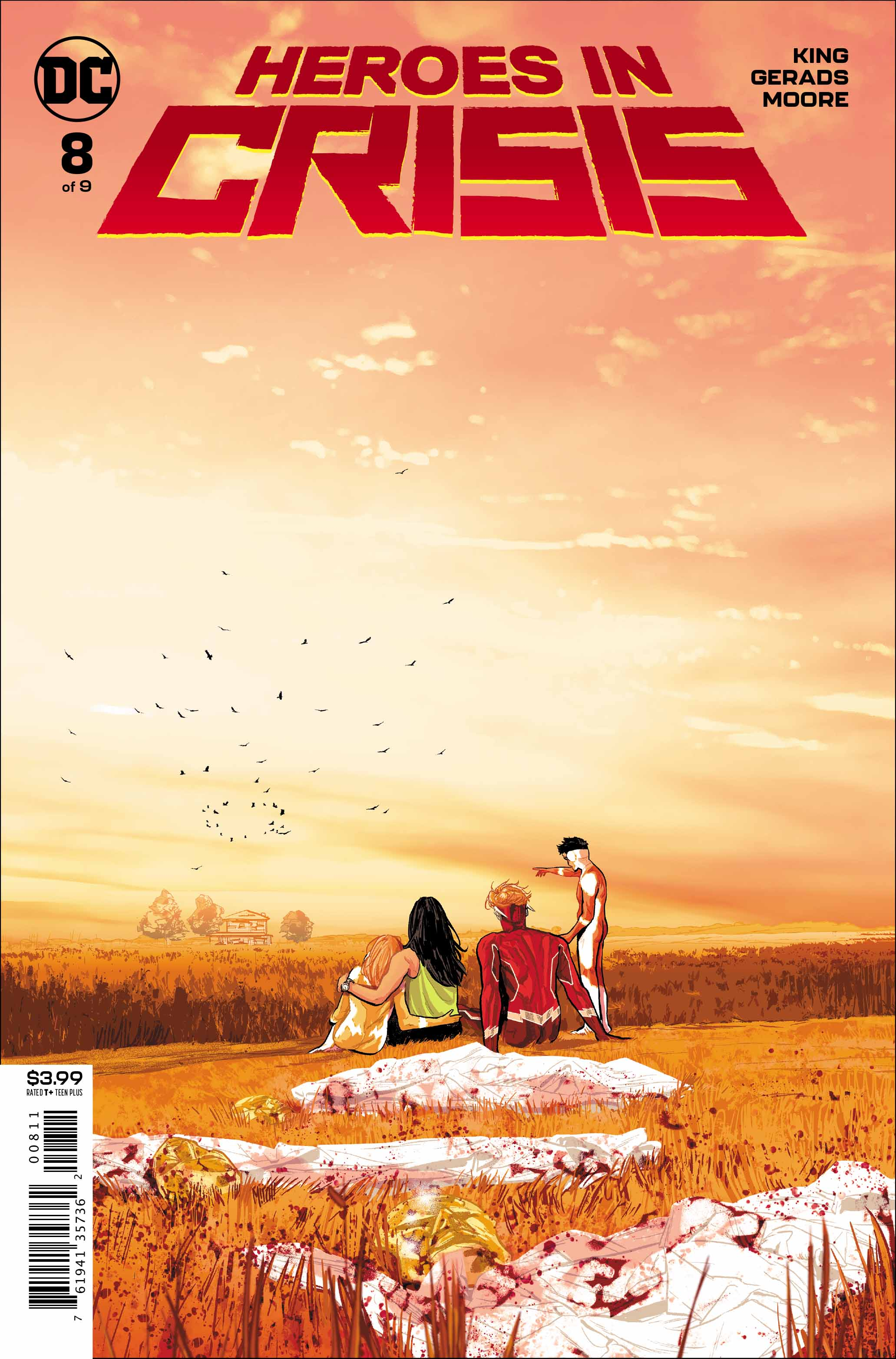 Heroes in Crisis #8 Cover
