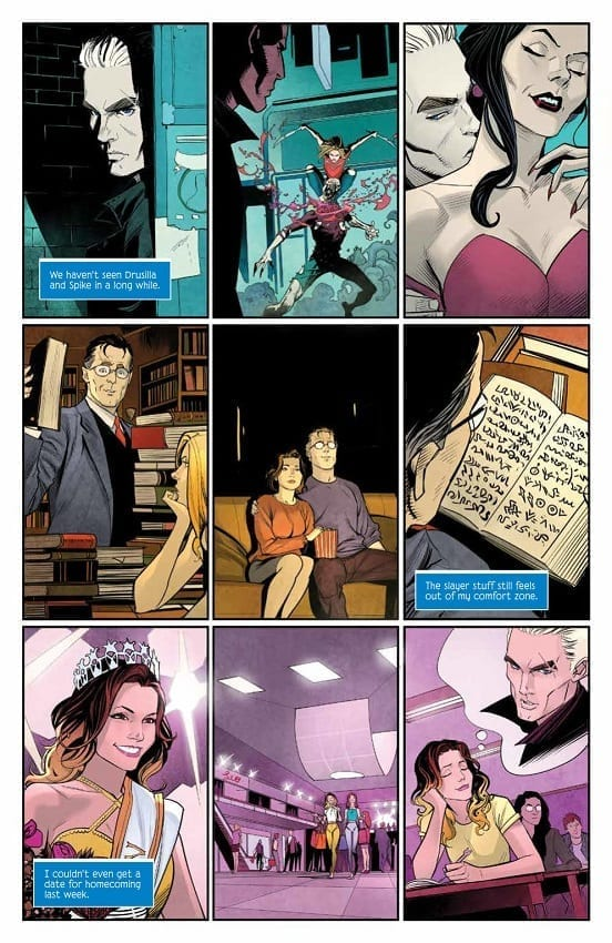 Buffy page Art