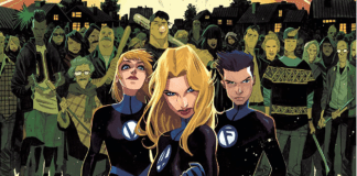 Fantastic Four #10 cover