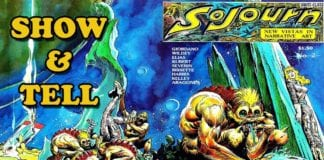 Cartoonist Kayfabe: Show and Tell Joe Kubert's Sojourn (with super amazing, early, Steve Bissette artwork)