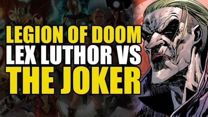 Comics Explained – Lex Luthor vs The Joker (Justice League/Legion of Doom: The Joker)