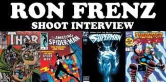 Cartoonist Kayfabe: The Ron Frenz Shoot Interview