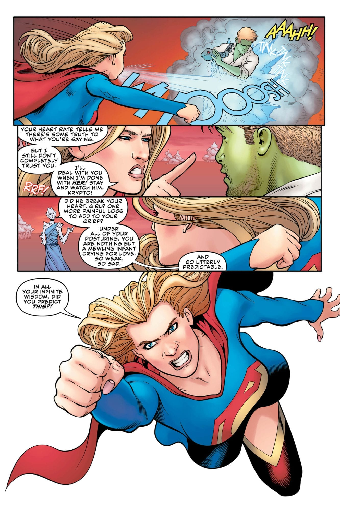 supergirl exclusive preview dc comics