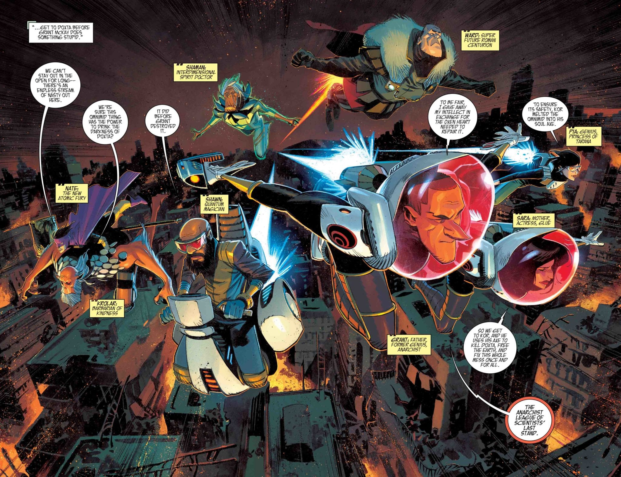 "BLACK SCIENCE #40 ""Remender and Scalera should do comics together forever."" 2"