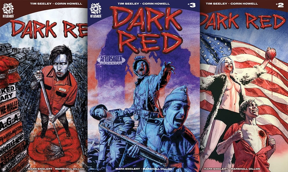 Exclusive AfterShock Preview: DARK RED #3 By Tim Seeley & Corin Powell 1