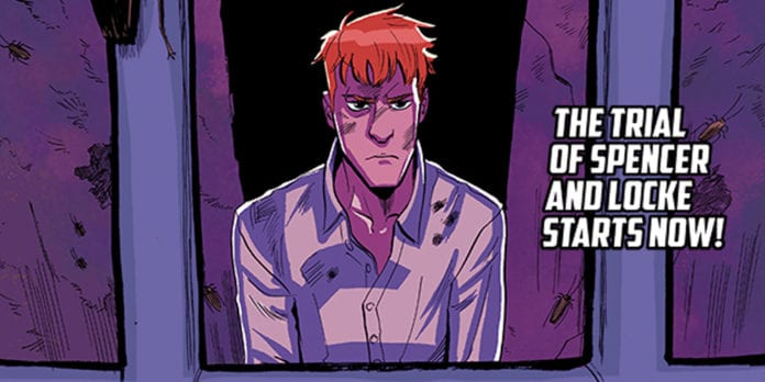 spencer & locke 2 comic book review