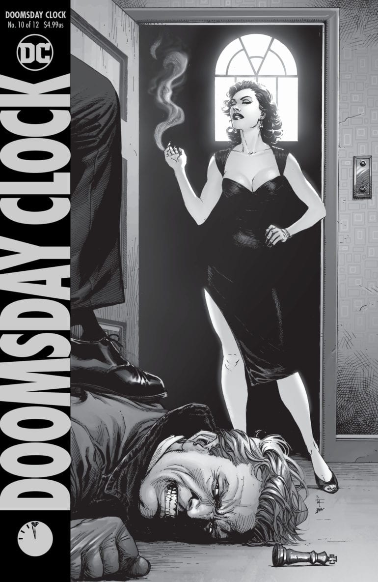 Doomsday Clock 10 cover
