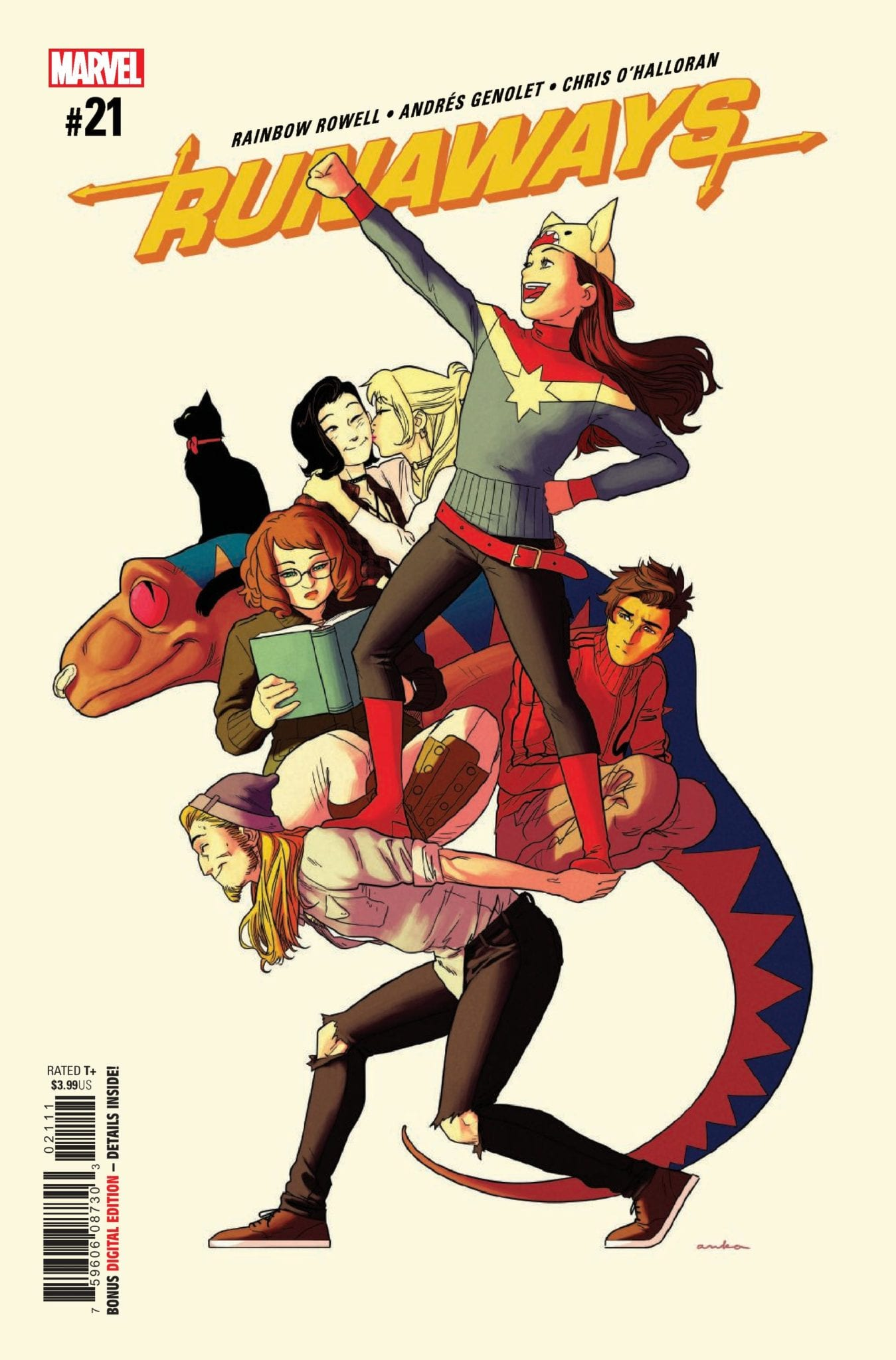 Marvel Comics Exclusive Preview: RUNAWAYS #21 1