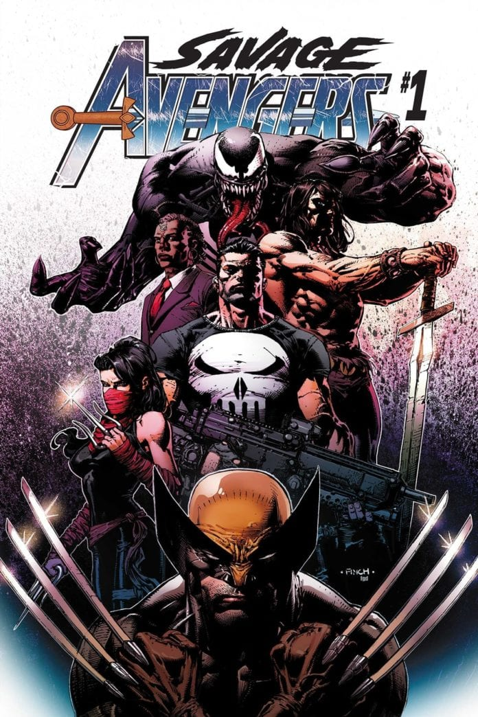 Review: SAVAGE AVENGERS #1 Is A Blast of Blades And Blood