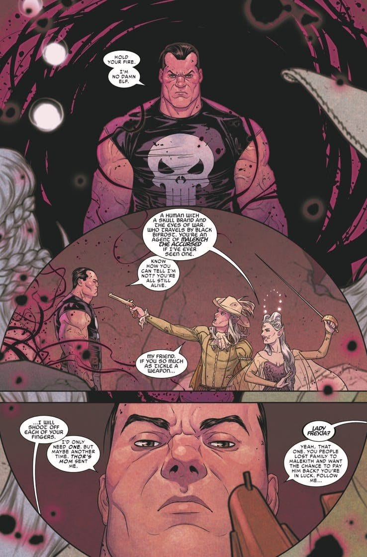 WAR OF THE REALMS #4 - Heavy Tolls & Monumental Returns 2