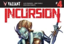INCURSION #4 cover A artwork