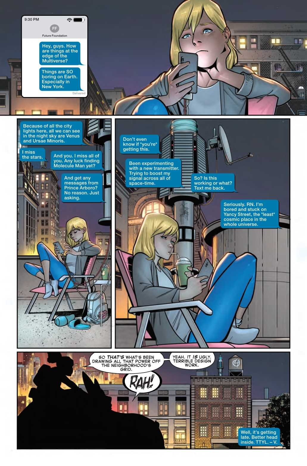 Valiera Richards, Fantastic Four #10