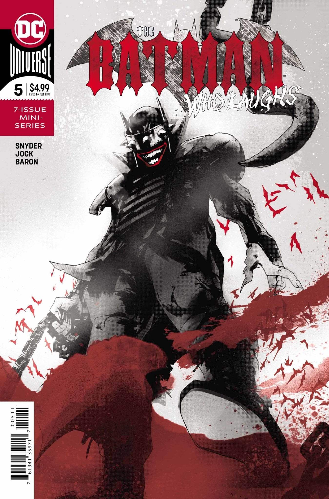 Review: THE BATMAN WHO LAUGHS #5 - Did Gotham Just Lose Its Soul? 1