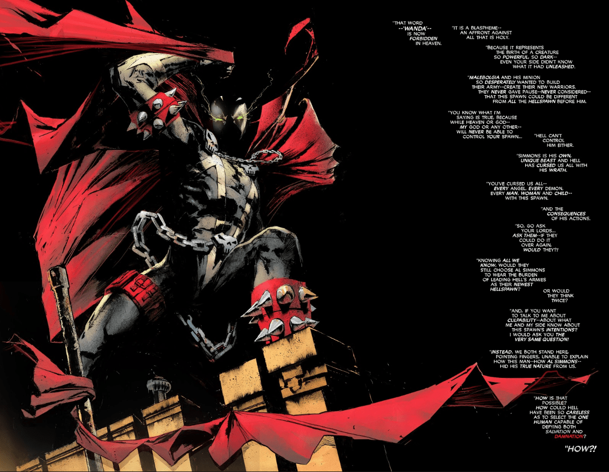 Review: SPAWN #296 - Todd McFarlane Takes Us Down Memory Lane