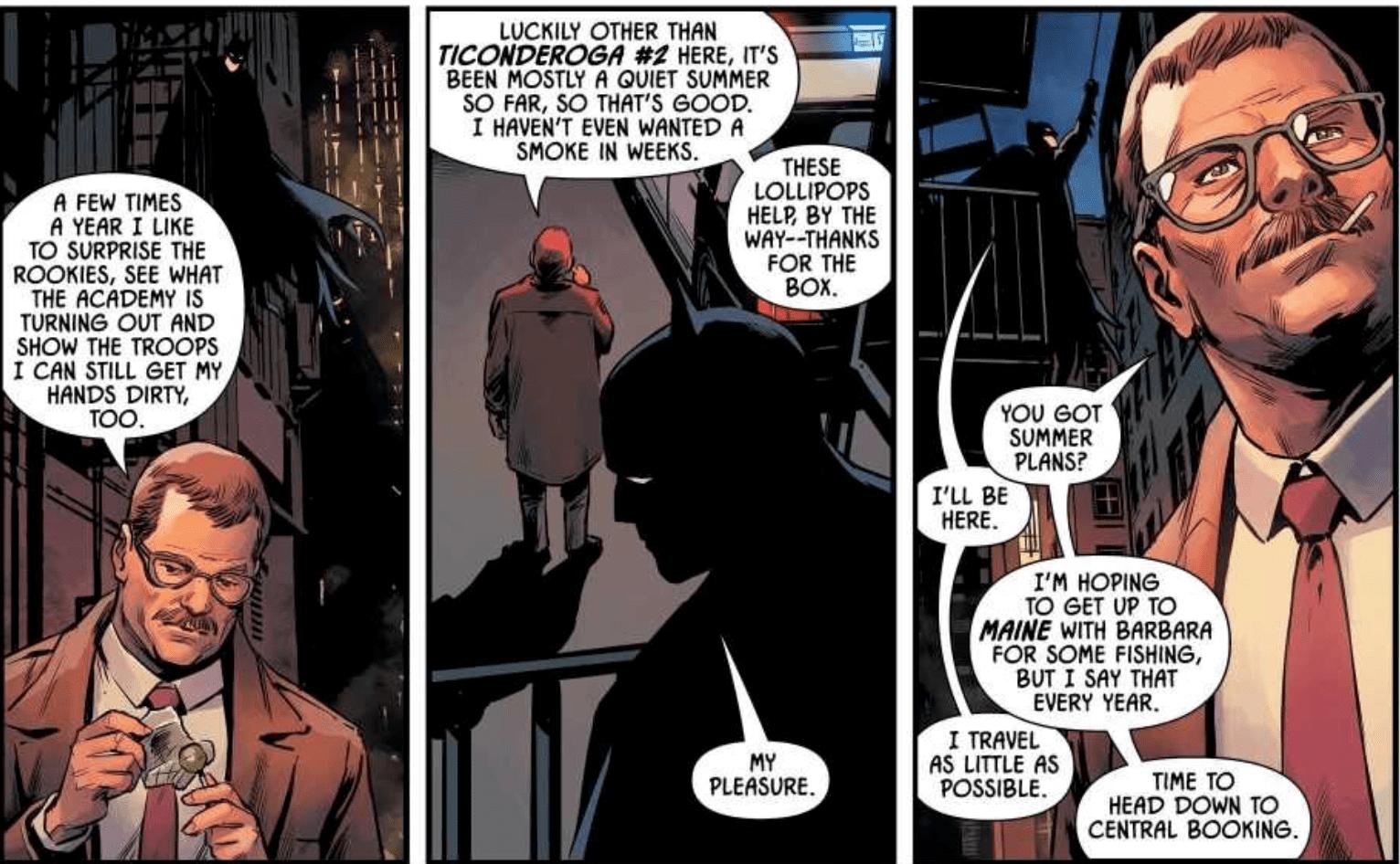 Detective Comics Annual #2, Batman, Jim Gordon