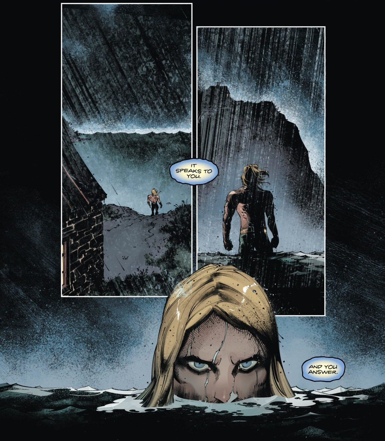 Aquaman searches for his memories
