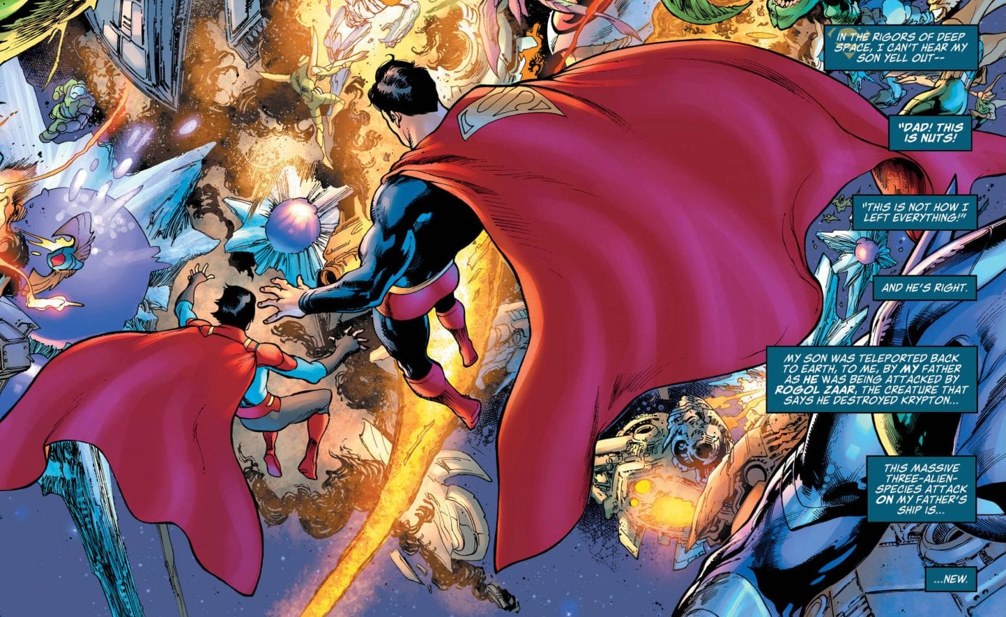 Clark and Jon facing the three armies