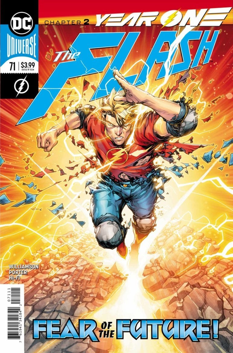 Flash . 71 cover