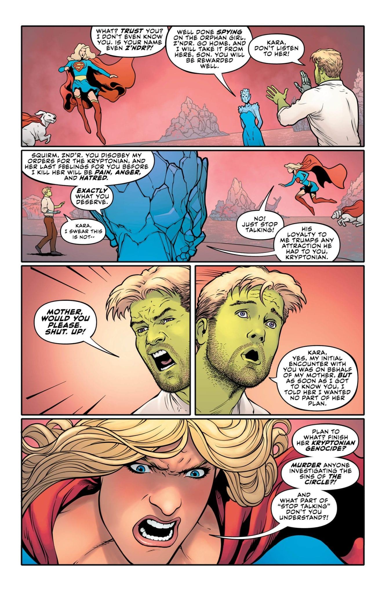 supergirl exclusive preview dc comics
