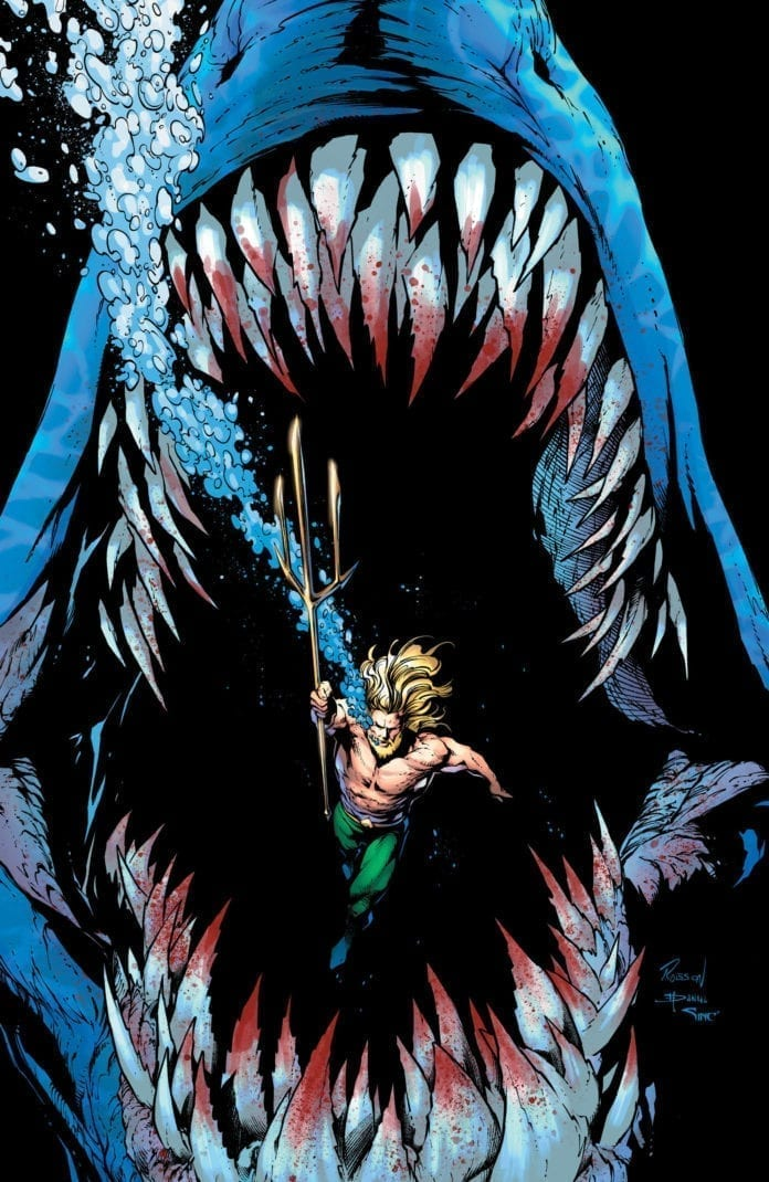 Aquaman and Mother Shark