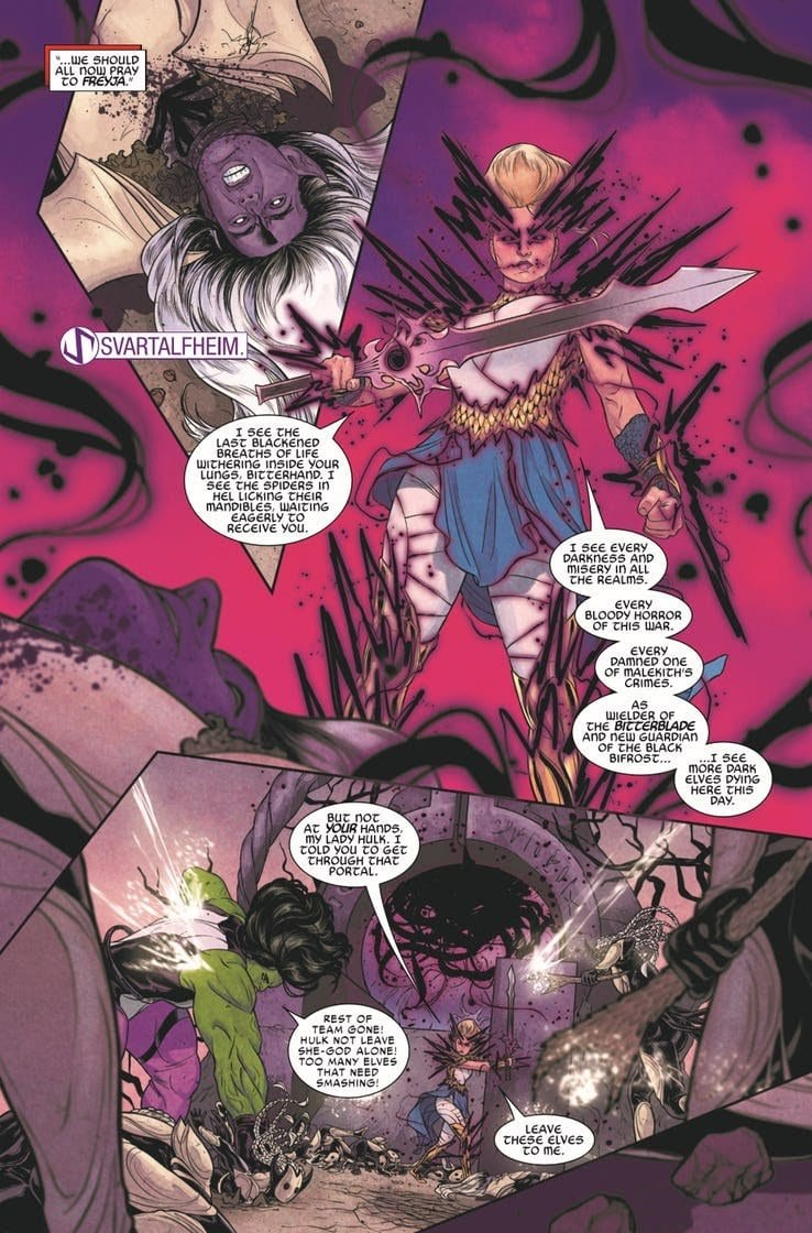 WAR OF THE REALMS #4 - Heavy Tolls & Monumental Returns 3