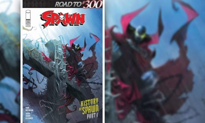 Review- SPAWN #296 - Todd McFarlane Takes Us Down Memory Lane