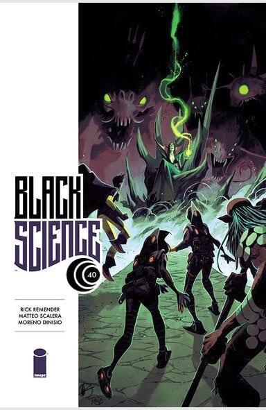 "BLACK SCIENCE #40 ""Remender and Scalera should do comics together forever."" 1"