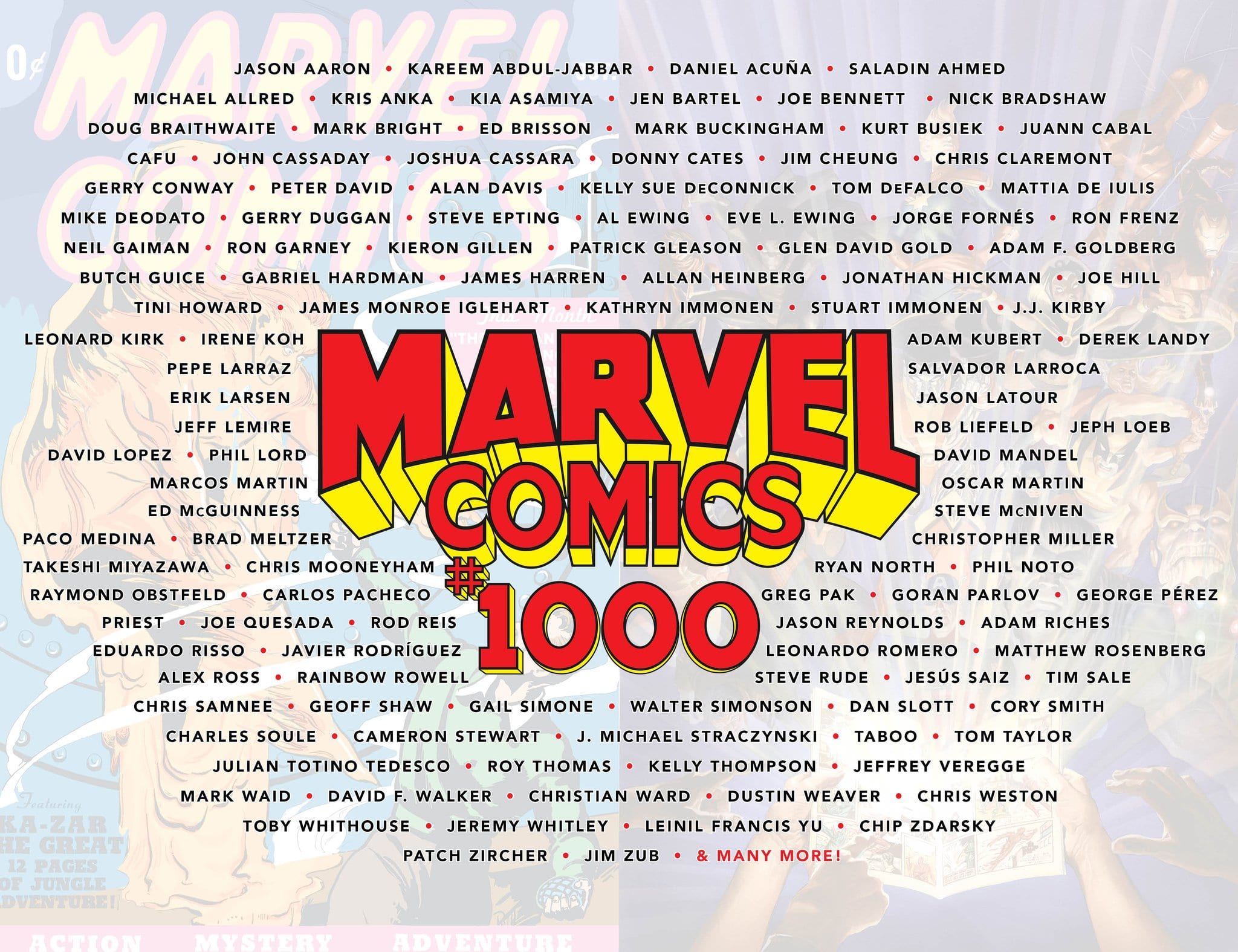 'Marvel Comics' #1000: What We Know So Far 2