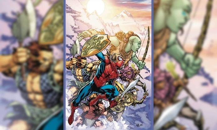 Exclusive Marvel Comics Preview - WAR OF REALMS: SPIDER-MAN & LEAGUE OF REALMS #1 (OF 3)