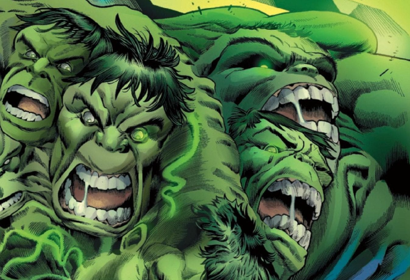 multiple Hulk personalities