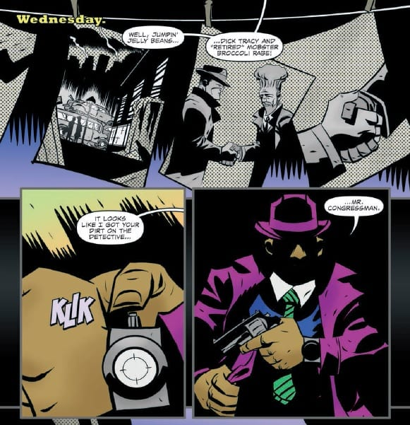 Review: DICK TRACY FOREVER #2, Fast Fists and Future Tech 1