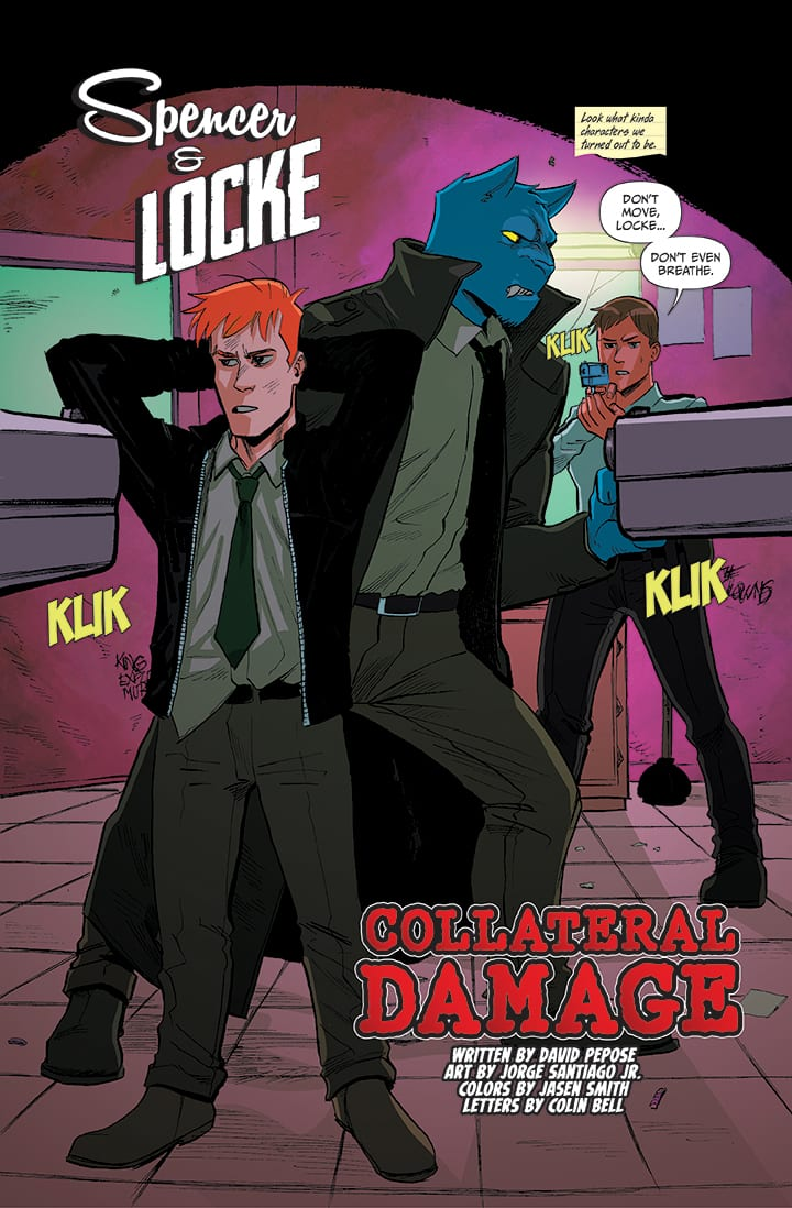 spencer & locke 2 comic book review preview