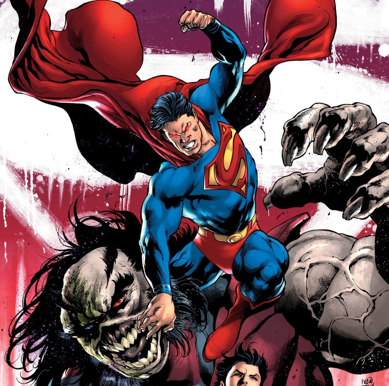 SUPERMAN #12 main cover art