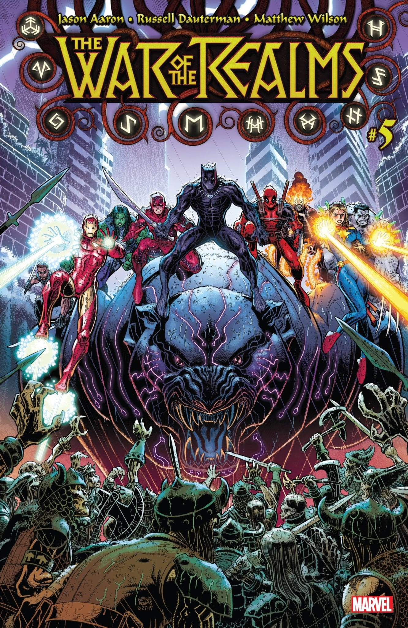 WAR OF THE REALMS 5 CVR