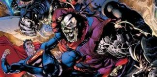 Rogol Zaar fights with Superman