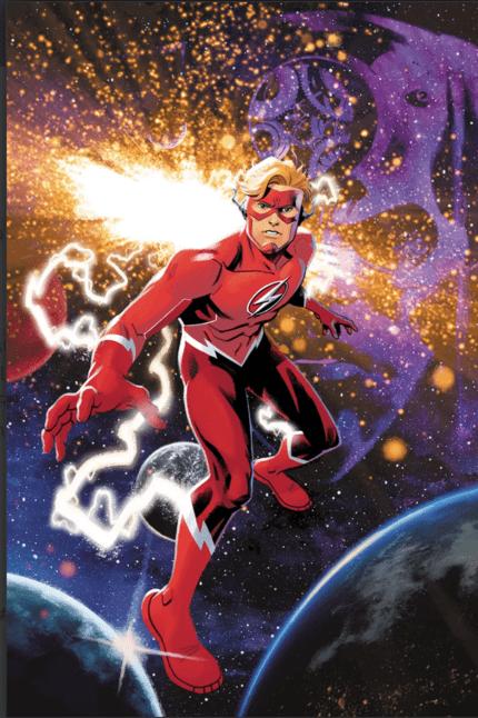Wally West Flash Forward
