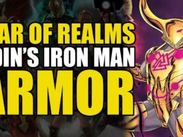 Comics Explained – War of The Realms Part 4: Odin's Iron Man Armor   Comics Explained