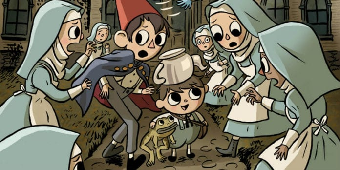 over the garden wall benevolent sisters of charity announcement