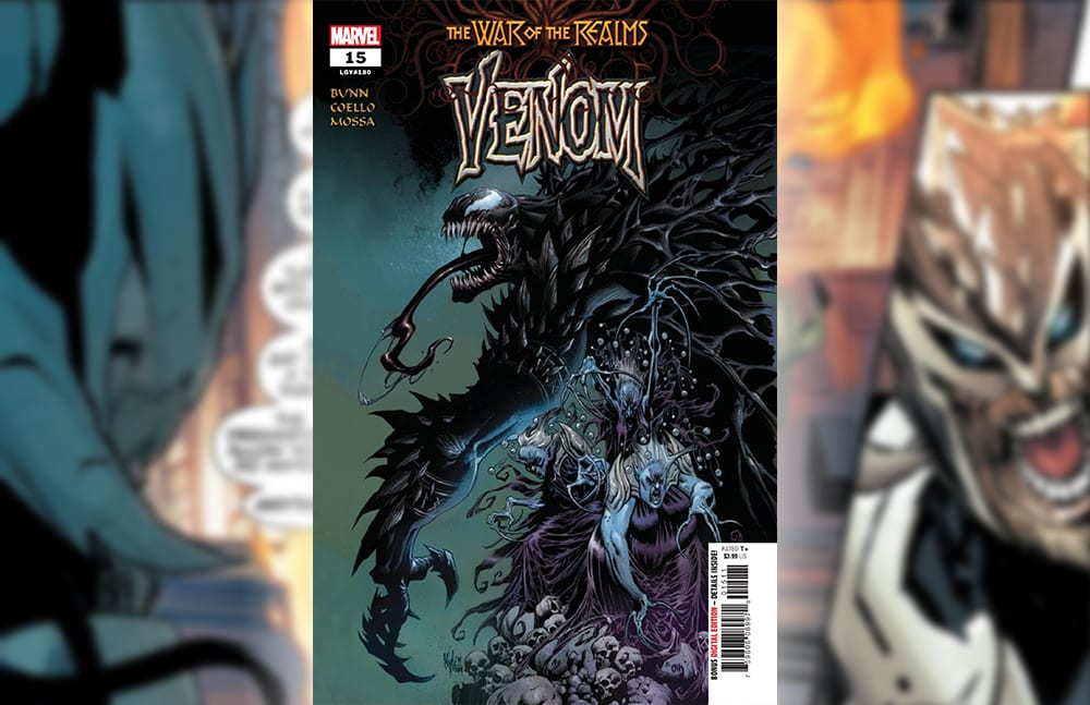 Marvel Comics Exclusive Preview: VENOM #15 War Of The Realms Tie-In