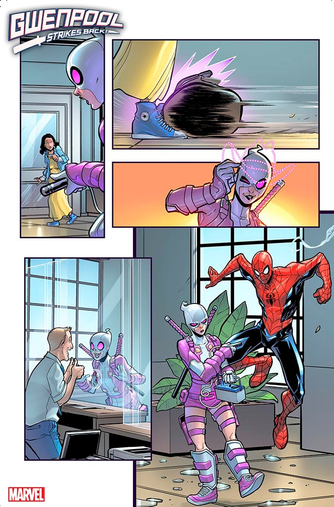 Gwenpool Strikes Back Marvel Comics Exclusive preview interview