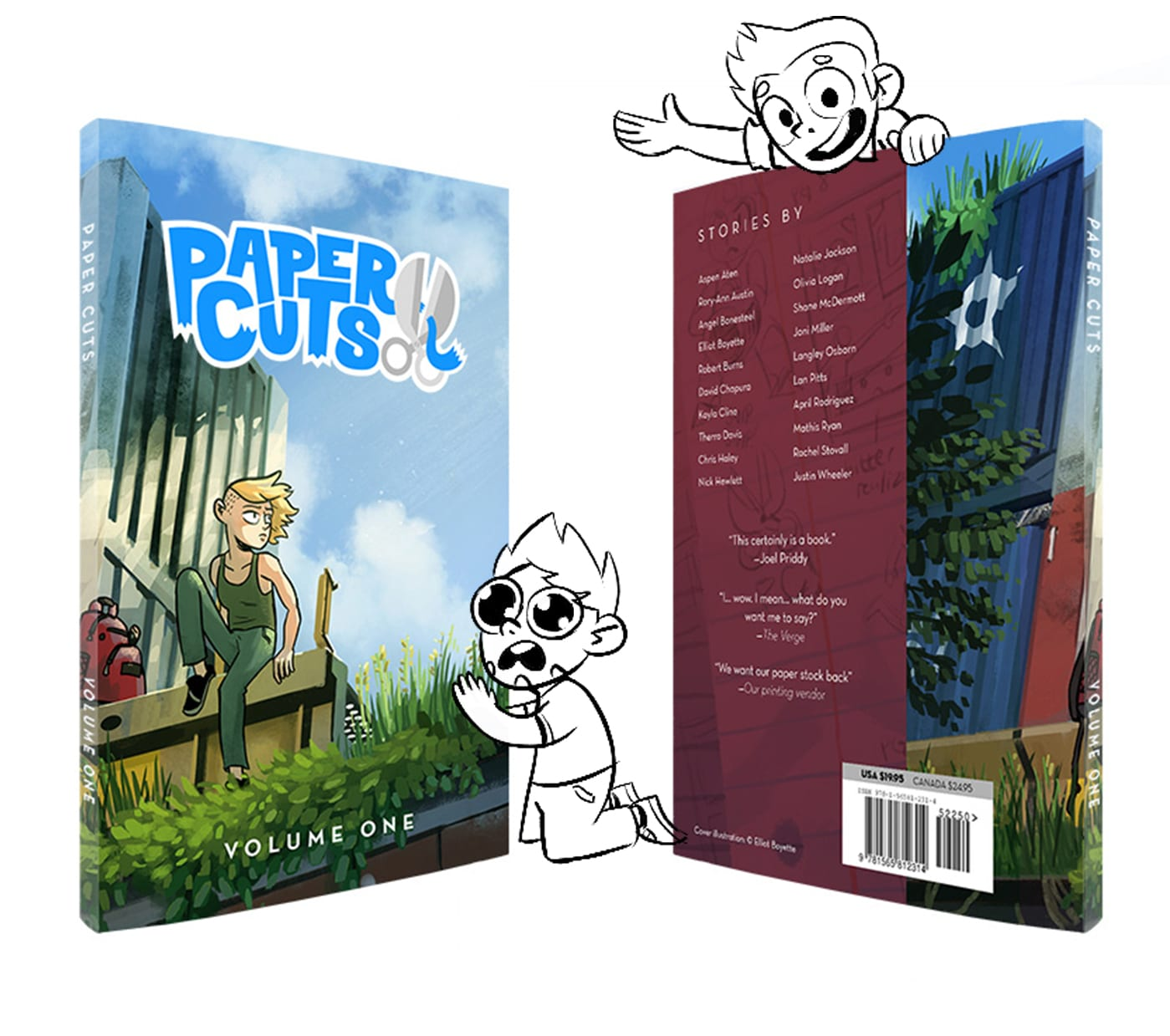 Paper Cuts Anthology Cover